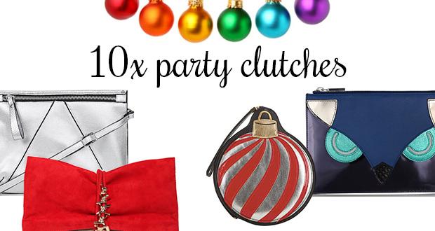 10 party clutches voor kerst