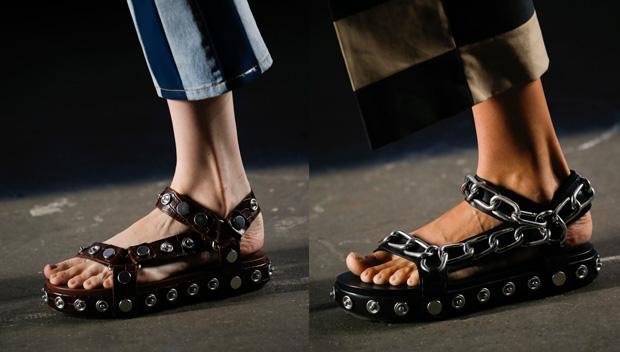 Alexander Wang accessoires sandalen lente 2016