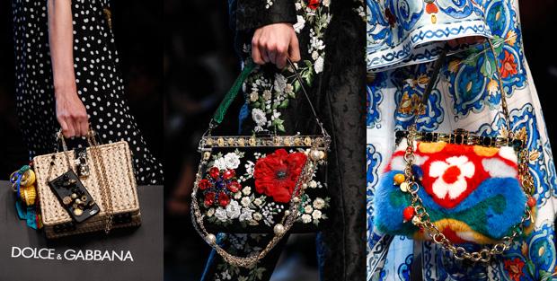 Dolce & Gabbana bags spring summer 2016