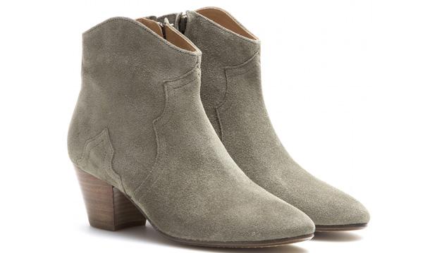 Isabel Marant Dicker boots grijs