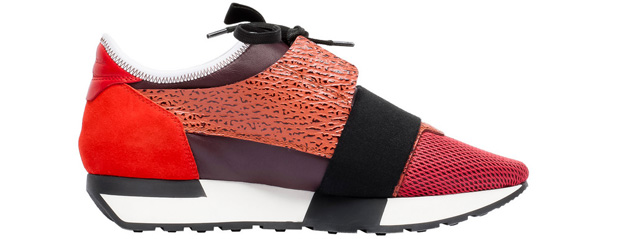 Balenciaga Race Runner sneakers red