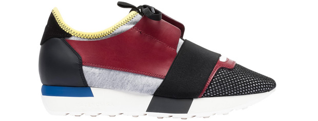 Balenciaga Race Runner sneakers red yellow