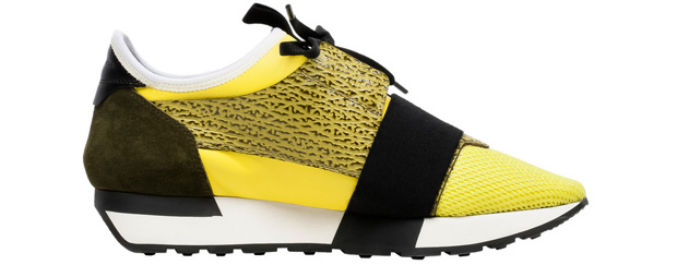 Balenciaga Race Runner sneakers yellow