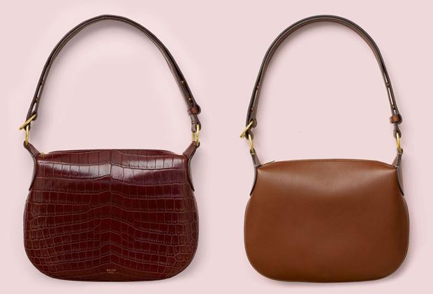 Céline Saddle bags spring 2016