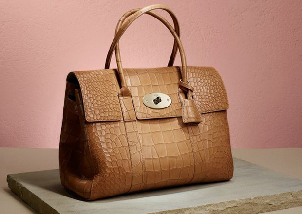 Mulberry Bayswater in croc