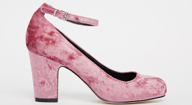 ASOS Velvet summer heels