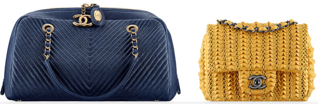 Chanel cruise 2016 bags