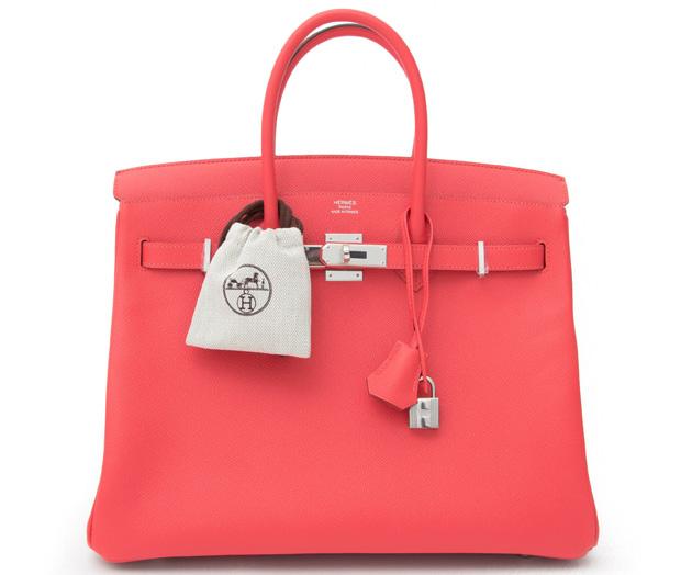 Hermès Birkin 35 Rose Jaipur Epsom phw