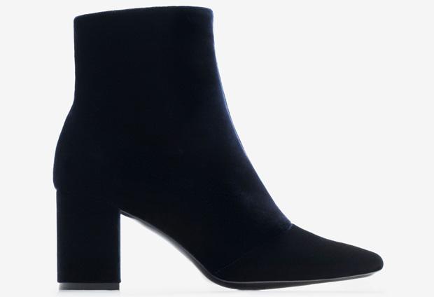 Uterqüe velvet boots