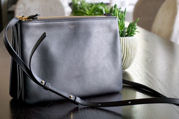 0acace18e46 What s in my bag  Céline Large Trio - The Bag Hoarder