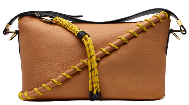 Acne Studios tassen rope messenger beige
