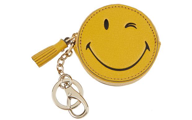 Anya Hindmarch smiley key chain