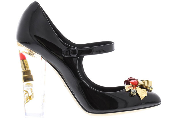 Dolce & Gabbana lipstick heels