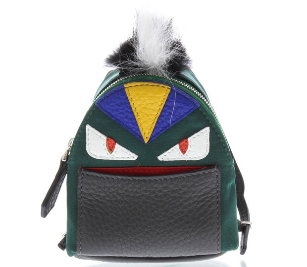 Fendi micro backpack bag bugs