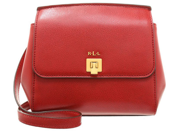 Ralph Lauren crossbody red