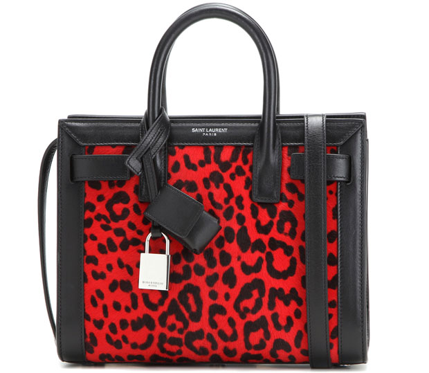 Saint Laurent sac de Jour leopard