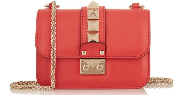 Valentino Lock mini red
