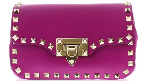 Valentino Rockstud crossbody pink