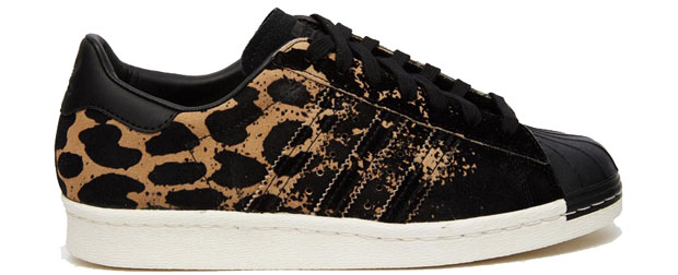 Adidas Superstar leopard ombre sneakers