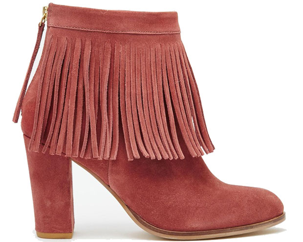 ASOS Evette suede boots
