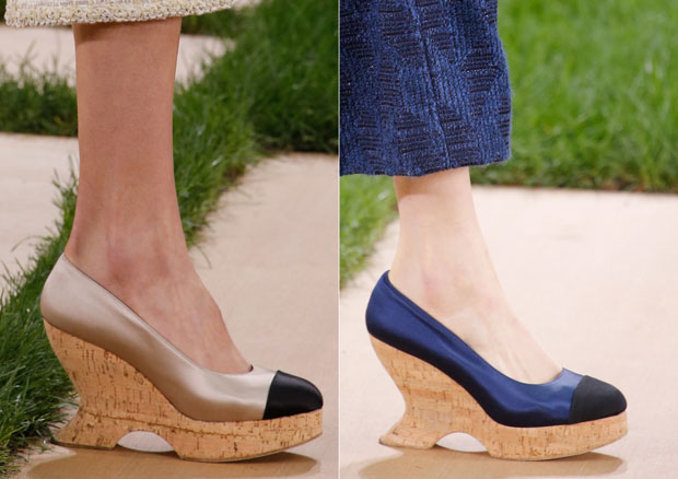 Chanel haute couture shoes 2016