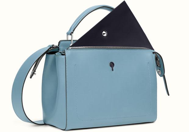 Fendi DotCom bag blue