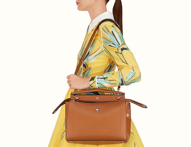 Fendi Dotcom Brown