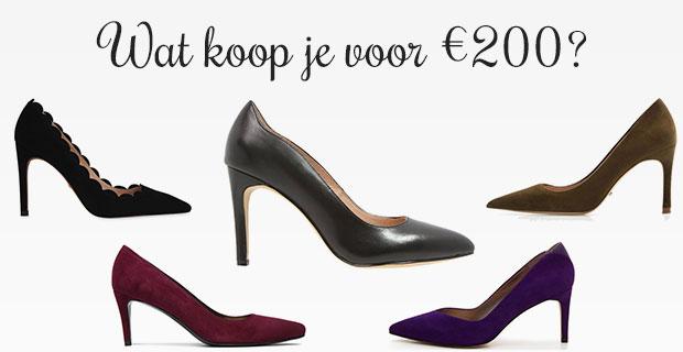 budget 200 euro schoenen
