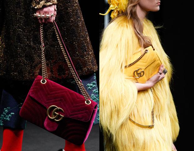 Gucci accessoires logo chain bag fw 2016