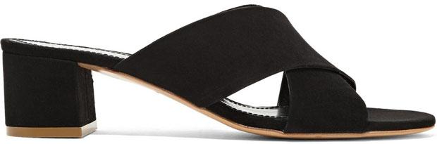 Mansur Gavriel schoenen suede black