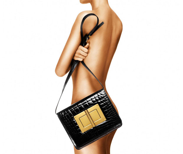 Tom Ford Natalia large alligator bag