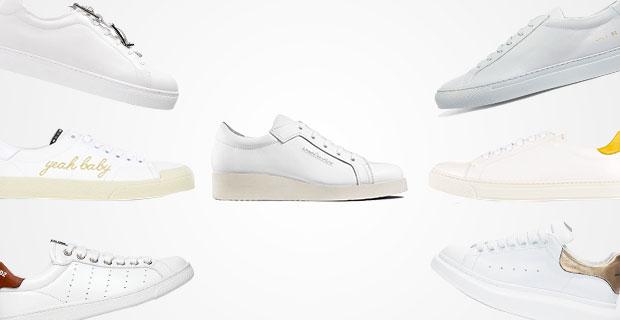 De mooiste witte sneakers