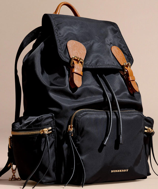 Burberry Prorsum backpack large black
