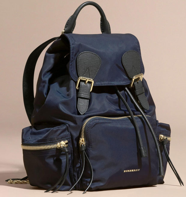 Burberry Prorsum backpack medium ink blue