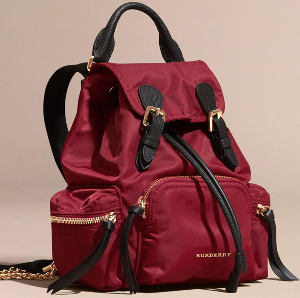 Burberry Prorsum backpack small red