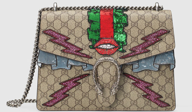 Gucci Dionysus embroided bag