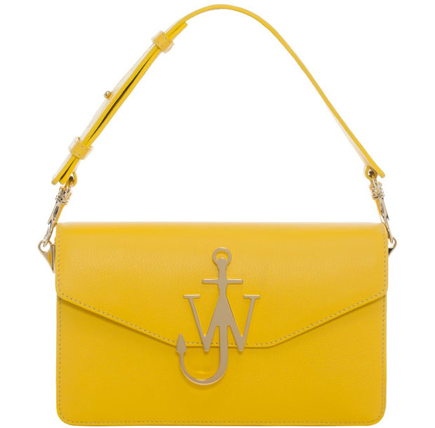 J.W. Anderson logo bag yellow