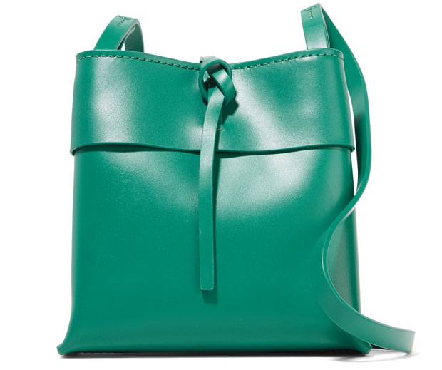 Kara nano tie bag green
