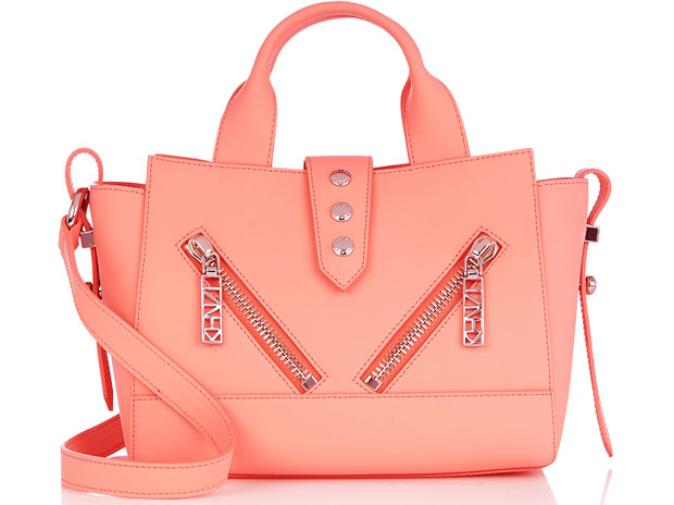 Kenzo California bag salmon pink