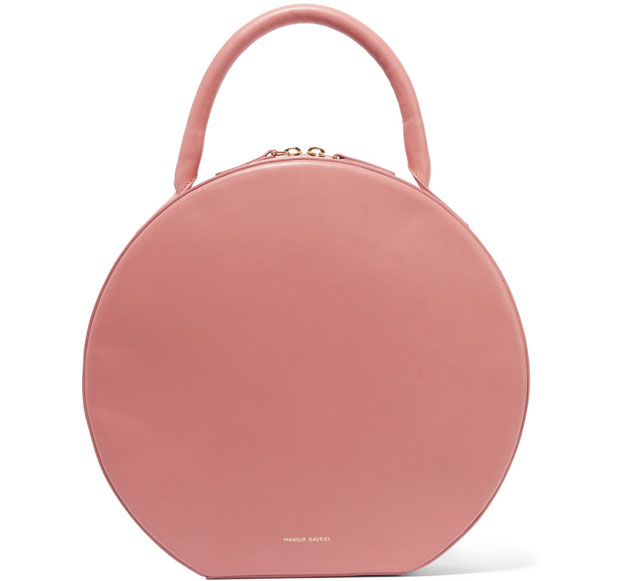 Mansur Gavriel Circle bag Blush pink