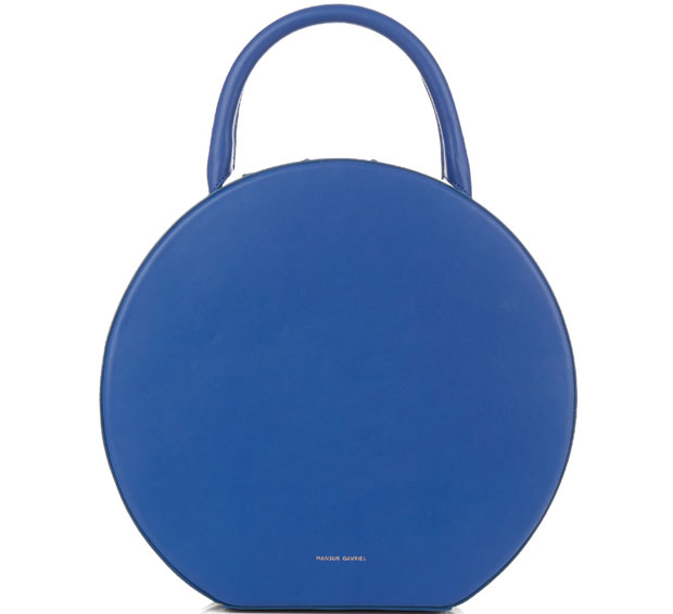 Mansur Gavriel Circle bag blue