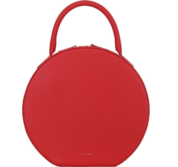 Mansur Gavriel Circle bag red