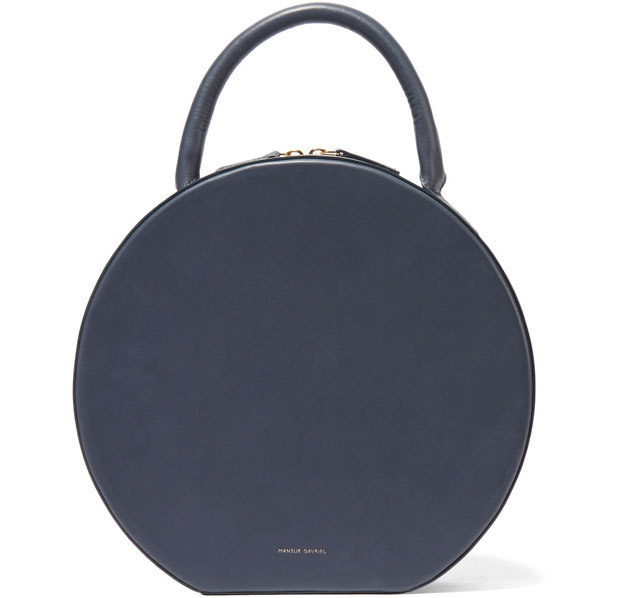 Mansur Gavriel Circle bag storm blue