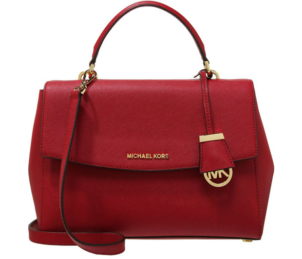 Michael Kors Ava messenger red