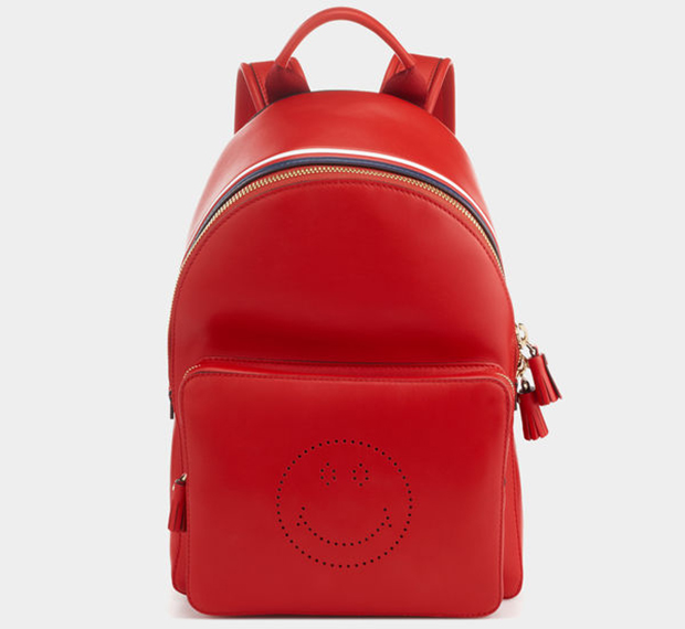 Anya Hindmarch Backpack smiley red