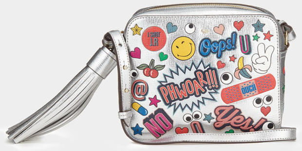 Anya Hindmarch All over wink stickers crossbody