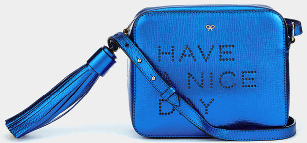 Anya Hindmarch Have a Nice Day crossbody