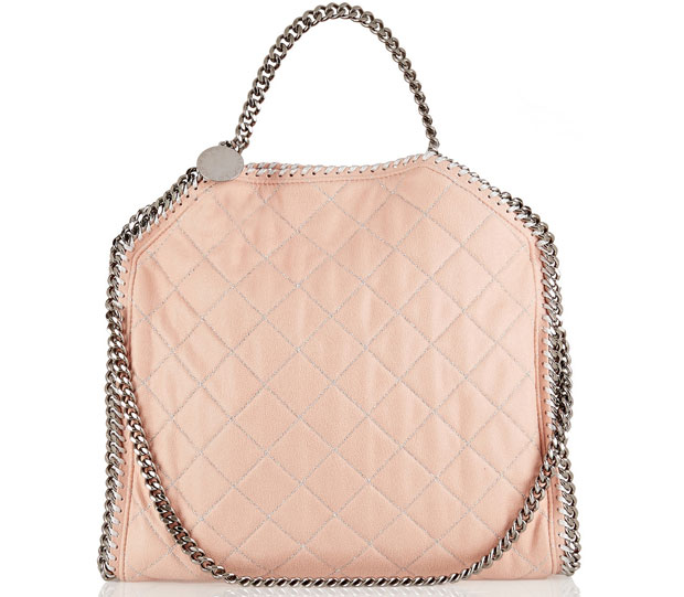 Stella McCartney Falabella pink quilted