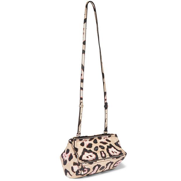 Givenchy pandora leopard small