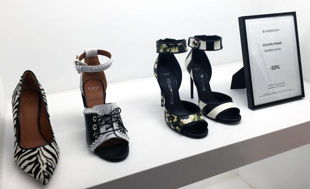 La Vallée Village outlet Parijs Givenchy schoenen